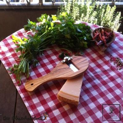 Trüffelhobel oder Parmesanreibe